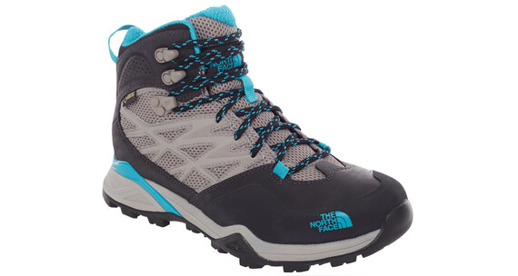 The North Face Hedgehog Hike Mid GTX - Calzado Mujer - gris/Turquesa